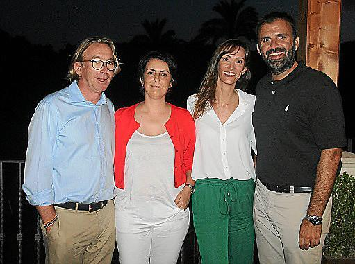 Dino Jaume, Coloma Tomàs, Xisca Oliver y Bernat Llobera.