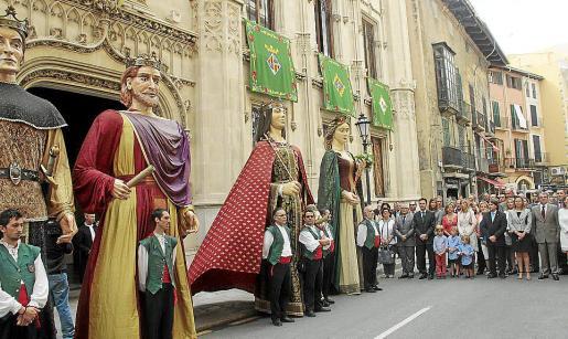 Imagen de archivo de la celebración de la Diada de Mallorca el 12 de septiembre.