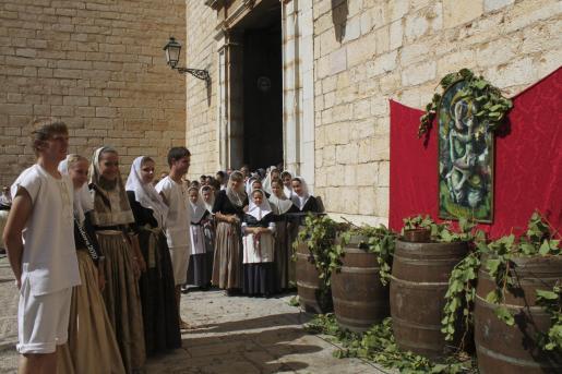 Binissalem despide sus Festes des Vermar con el homenaje al Tall de Vermadors.