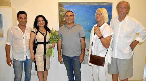 Emad y Chamsa Korkis, Jorge Azri, Vivi Lerche y Michael Wagenhofer.