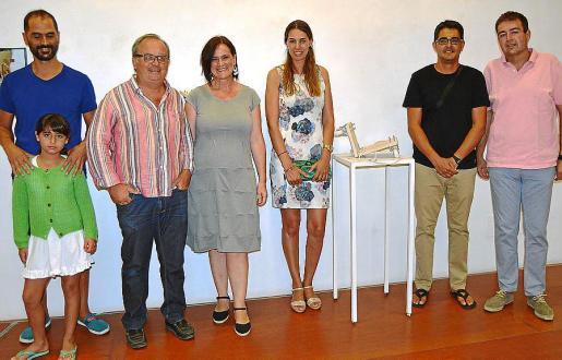 Vicenç Palmer, Mar Pérez, Toni Torres, Diana Bustamante, Mónica Vaquer, Daniel Castilla y Toni Pons.
