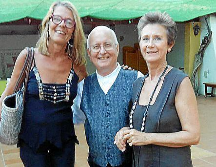 María Font, Damián Serra y María Antonia Juan.