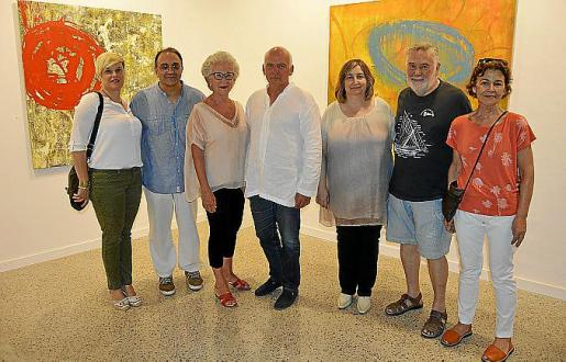 Marta Murgades, Miquel Segura, Maria A. Alomar, Fernando Fabré, Dolors Pérez, Joan Lacomba y Joana Gomila.