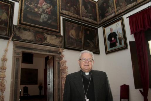 El obispo de Mallorca, Javier Salinas, en una imagen de archivo.
