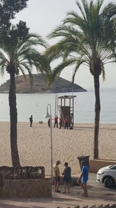 El británico se encontraba en el techo de la torre de un socorrista en la playa de Magaluf.