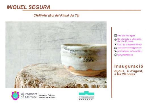 Cartel promocional de la muestra en Marratxí.