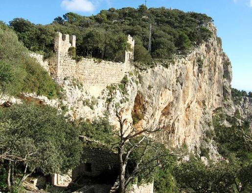 Vista del Castell de Alaró.