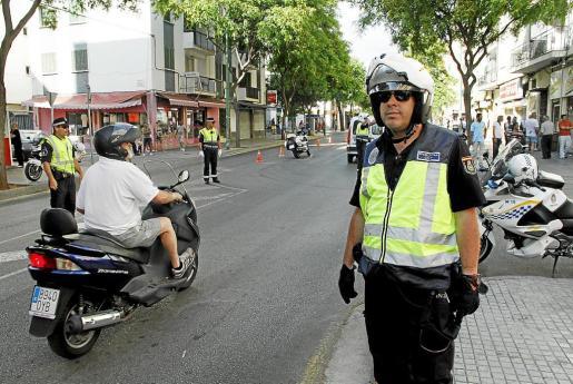 La detención del sospechoso fue practicada en una céntrica calle de la barriada de Son Gotleu. (Imagen de archivo)