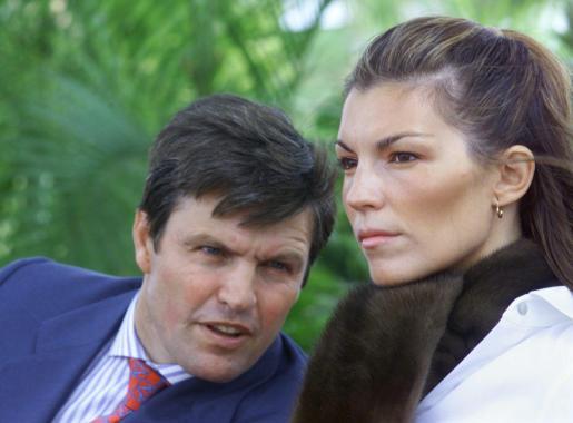 Foto de archivo de Espartaco y su mujer Patricia Rato.