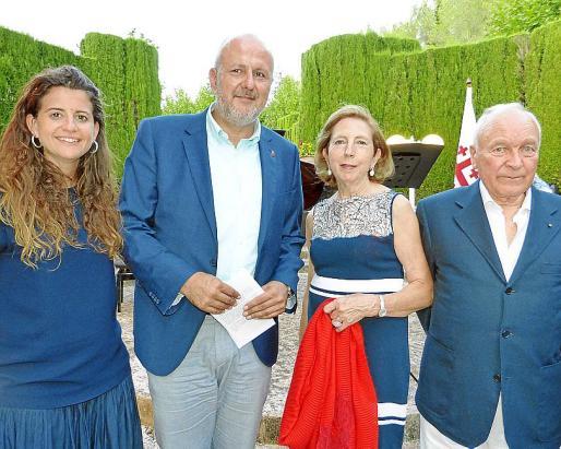 Maria Ramon, Miquel Ensenyat, Paz Massanet y Gabriel Sampol.