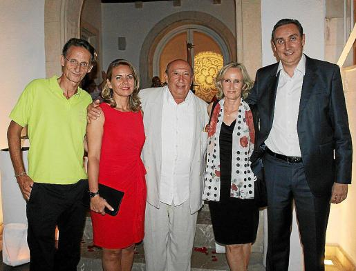 Juan José Lemm, María Catalá, Francis Montesinos, Mylene Baviera y Antoni Massó.