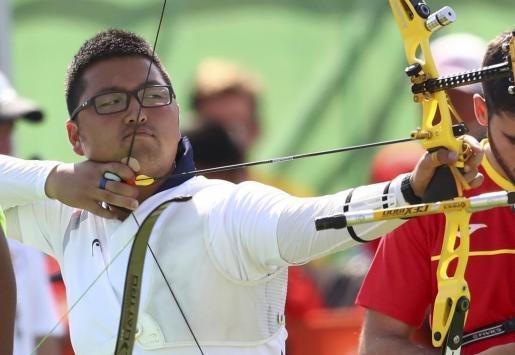 El arquero surcoreano Kim Woo-Jin ha establecido el primer récord del mundo en los Juegos Olímpicos de Río.