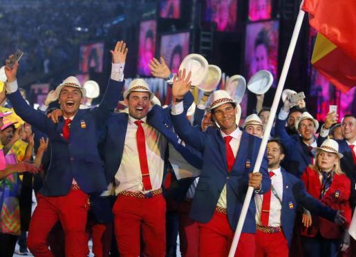 El español Rafael Nadal encabeza la delegación española en los Juegos Olímpicos de Río de Janeiro 2016.