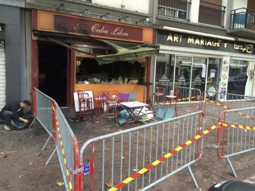 El incendio en un bar de la ciudad francesa de Rouen ha dejado varios muertos.