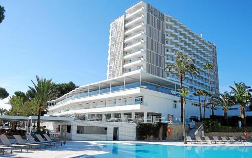 Uno de los hoteles de la cadena, el Meliá Calviá Beach de Magaluf