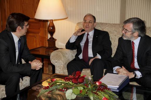 Antich se reunió ayer con Raphaël Alomar y Apolonio Ruiz Ligero.