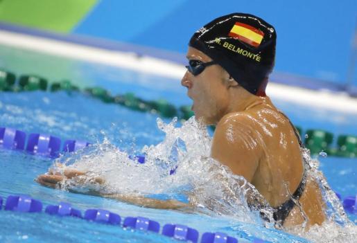 NTA09. RÍO DE JANEIRO (BRASIL), 08/08/2016.- La nadadora española Mireia Belmonte durante la competencia de 200 metros durante los Juegos Olímpicos Río 2016 hoy, lunes 8 de agosto de 2016, en Río de Janeiro (Brasil). EFE/LAVANDEIRA JR COMPETENCIA DE NATACIÓN