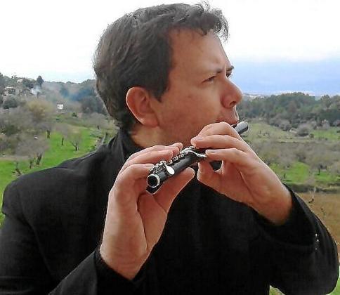 Enrique Sánchez, flauta de la Simfònica.