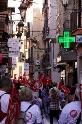 Vista general de una calle de Palma.