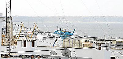 Imagen del puerto tomada desde la calle Garita de Portopí.