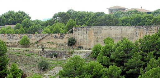 Imagen de los terrenos en los que el Consistorio quiere crear una gran zona verde para Palma.