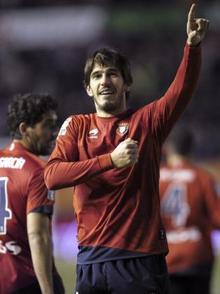 """Dejan Lekic """"Leka"""", en una imagen de archivo cuando jugaba con el Osasuna."""