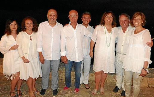 Apolonia Gil, Catalina María Fullana, Miquel Ensenyat, Tomeu Gomila, Vicens Fuster, Maria Antònia Mulet, Miquel Mascaró y Margalida García.