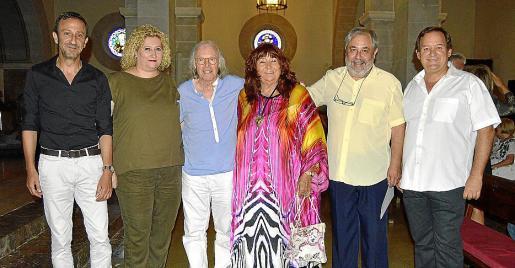 Rafel Fernández, Carme Corraliza, Gustavo, Regine Peñalver, Antoni Amorós y Pere Cortada.