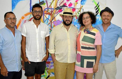 Pere Duran, Nauzet Mayol, José Antonio Delgado, Mariana Sarraute y Christian Hoel.
