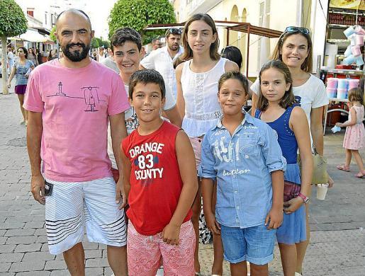 Jaume Dols, Biel Garau, Felip Gili, Nuria Tauler, Jaume Dols, Laura Tauler y Ramona Lorenzo.