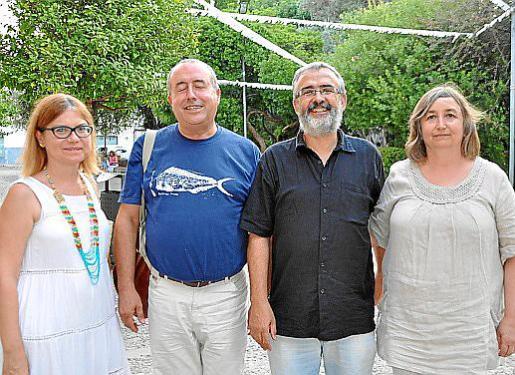 Eva Cerdà, Sebastià Vidal, Joan Font y Dolors Pérez.