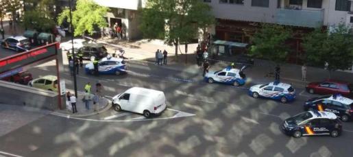 Fotografía donde ha tenido lugar el tiroteo.