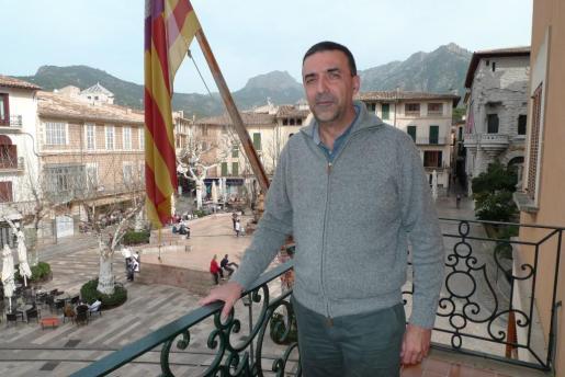 Jaume Servera, alcalde de Sóller.