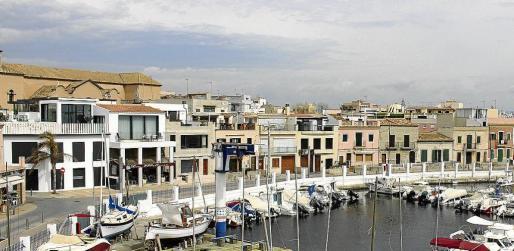 Por este tramo del Molinar sólo podrán pasar los residentes cuando Cort amplíe el paseo marítimo.