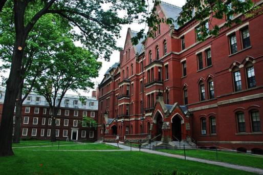 Imagen de la universidad de Harvard, considerada la mejor del mundo.