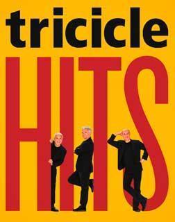 Cartel del espectáculo HITS, de la compañía Tricicle.