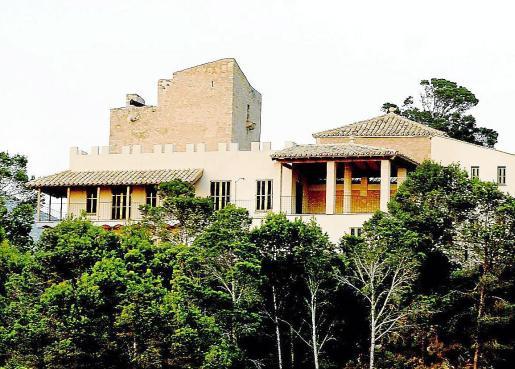 Castillo de Sant Elm, objeto de un largo litigio entre sus propietarios y el Ajuntament d'Andratx.