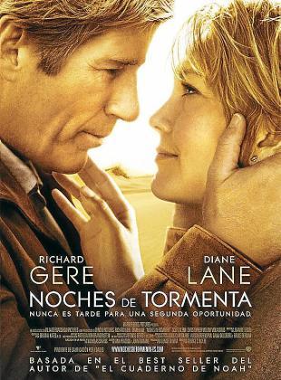 Cartel de la película 'Noches de tormenta'.