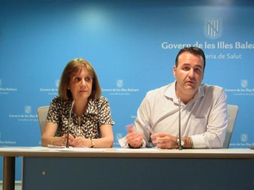 El director general de Consumo, Xisco Dalmau, durante una rueda de prensa.