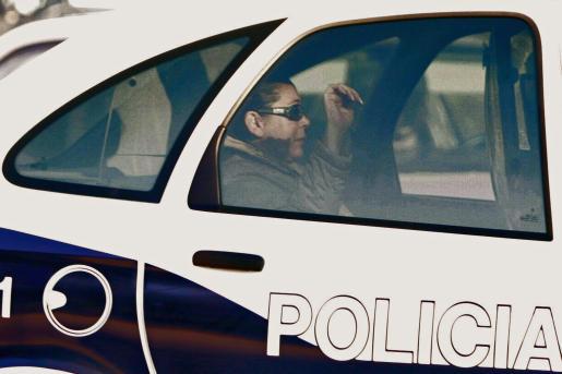 Isabel Pantoja, cuando fue detenida en 2007.