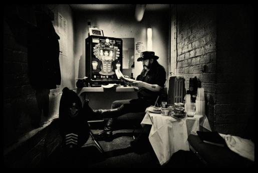 Lemmy Kilmister en una de las imágenes del fotoperiodista mallorquín Pep Bonet.