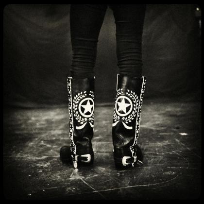Fotografía incluída en la muestra sobre Motörhead del fotoperiodista mallorquín Pep Bonet.