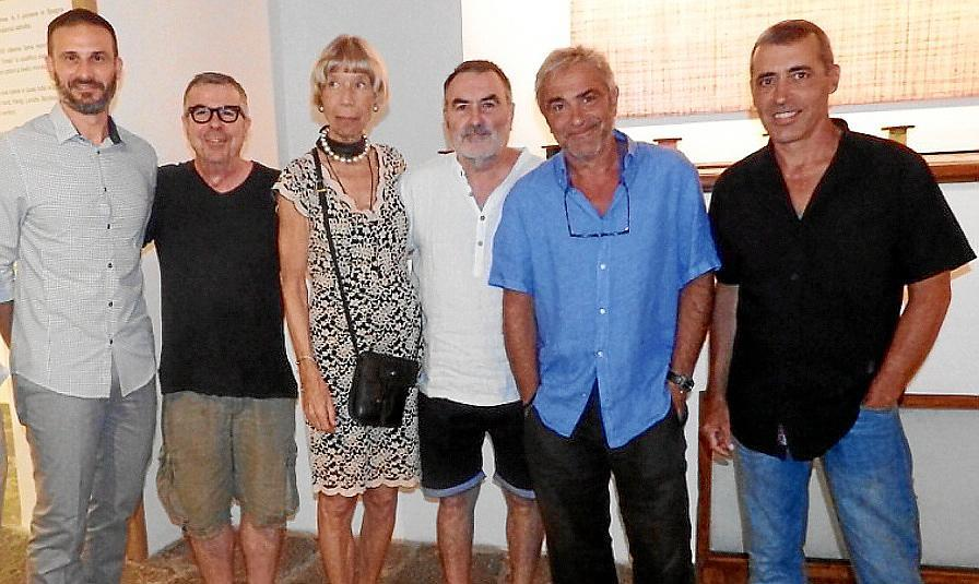 Inauguración en Can Prunera y lectura del pregón de la Nit de l'Art
