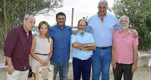 Antoni Bennàssar, Usun Yoon, Vicenç Vidal, Miquel Gelabert, Fernando Romay y Mateu Ginard.