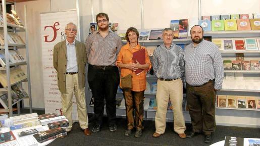 Josep Joan Vidal, Miquel Ferrer, Imma Planas, Toni Moll y Gracià Sánchez, en Líber.