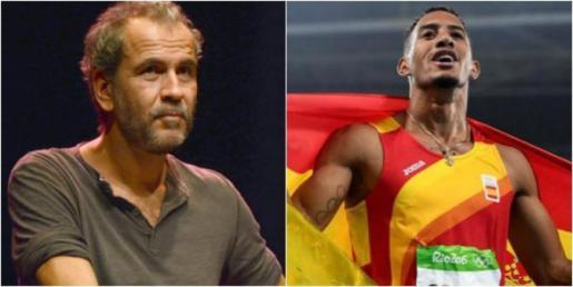 El actor ha provocado un revuelo en las redes sociales tras las descalificaciones vertidas sobre el vallista.