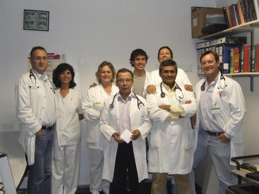 El servicio de Cardiología del hospital trabaja para mejorar la asistencia.