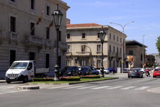 La avenida Antoni Maura, zona Acire.