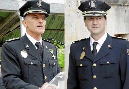 Los exjefes de la Policía Local de Palma Joan Miquel Mut y Antoni Morey han sido suspendidos este martes de empleo y sueldo.
