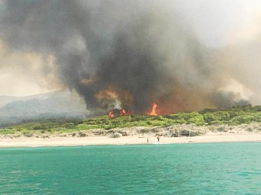 El incendio en sa Canova ha levantado las voces de alarma, la preocupación municipal y de los vecinos.